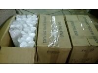 job lot of x2700 cups - x3 cases polystyrene cups 300ml