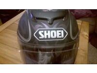 ladies small shoei motorbike helmet