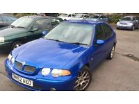 52 reg MG ZR 1.6 moted 75k trophy blue rover 45 SPARES OR REPAIR