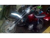 pit bike 110 cc, not running