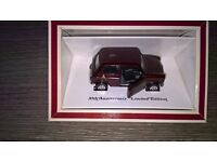 Diecast model of the 30th Anniversary Limited Edition Mini 30