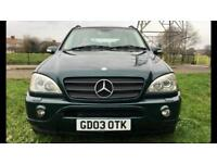 2003 Mercedes Benz ML 270 CDI AMG styling Edition - Very Rare// 7 seater