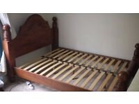 Solid wood Kingsize Bed