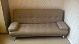 Click Clack Sofa Bed with recline position