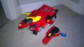 Switch And Go Dinos Turbo Bronco The RC Triceratops
