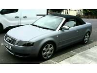 Audi S4 CONVERTIBLE 4.2 V8 PADDLE SHIFT TRIPTRONIC px acepted