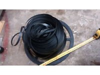 12mm plastic strapping and buckles for packaging, part used