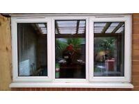 DOUBLE GLAZED UPVC WINDOW - GOOD CONDITION
