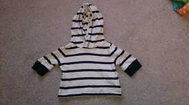 Gap stripy jumper 0-3 months