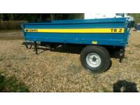 Fleming T2 Tipping Trailer 2014, as new condition