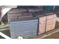 roofing tiles/ slates approx 15 packs of 5