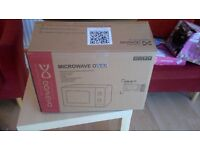 Daewoo KOR6L77 Microwave Oven, 700w - 20 Litre in White - Brand New
