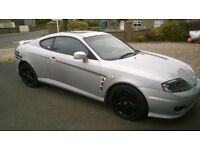 HYUNDAI COUPE.Nov 2005. 750ono.Mot Oct.Alloys,leather interior,elec windows/sunroof. PX jeep patriot