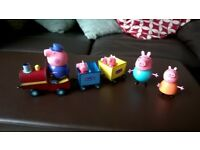 Peppa pig train set with sounds