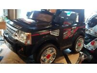 12 volt Landrover style electric ride on Jeep