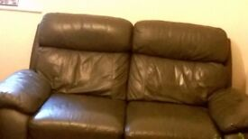 two seater recliner good condition
