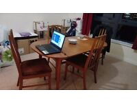 Free table + chairs