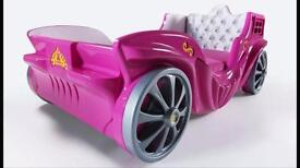 Childrens princess car bed individual unique(LAST ONE)Brand new