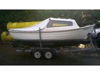 """Dell Quay 19"""" fishing boat"""