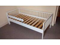 IKEA White Gulliver Junior bed