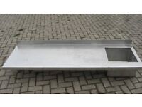 Stainless Steel sink top - heavy duty,commercial.