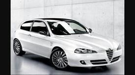 Alfa Romeo 147 Collezione limited edition one of 500 White with Black Roof