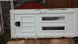 Used UPVC front door free of charge