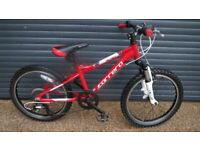 CHILDS CARRERA BLAST QUALITY LIGHTWEIGHT ALUMINIUM BIKE IMACULATE ALMOST NEW CONDITION. SUIT AGE. 6+