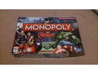 MONOPOLY AVENGERS - used twice