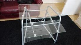 Computer Glass Table