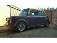 Classic Austin mini breaking for spares,mg 1275 engine,4 pots,sportex exhaust,new rear brakes,grill