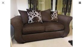 Black dfs sofa Joelle immaculate