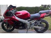 zx9r nice clean bike £1850 or swap for r1 or gsxr k series