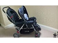 Twin Pushchair