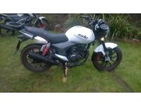 Generic KSR moto 125cc. 2015, only 1300 miles. A Quality Austrian made bike.