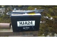 Mazda MX5 MK2.5 Battery GS YUASA HJ-A24 238mm long x 129mm wide x 187mm high(reserved)