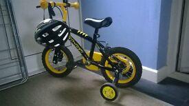Bumblebee bike with stabilisers
