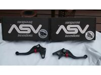 asv inventions c/5 series motorcycle levers