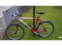 "Men 21"" frame bicycle with 22"" wheels for sale 50 GBP"