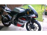 REIJU RS3 50CC 2012 MODEL ( please note has gears not pull back and go)