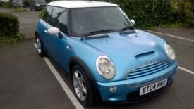 image for MINI COOPER S 1.6 Supercharged. Petrol. 6-Speed Manual. Excellent Condition. Long MOT