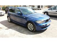 2010 BMW 116D ES BLUE 6 SPEED 10 PLATE MANUAL HPI CLEAR NON RUNNER BARGAIN