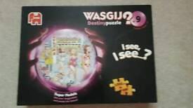Wasgij 1000 piece puzzle