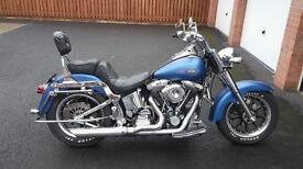 Harley davidson flstf fatboy 1340 1993