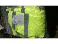 Hi viz yellow bomber Large Jacket