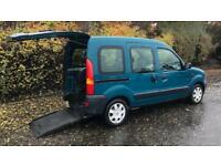 WHEELCHAIR ACCESS MOBILITY VEHICLE RENAULT KANGOO (2007) year mot with wheelchair ramp