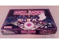 Rangers Football Club Edition Monopoly 2000 - Used