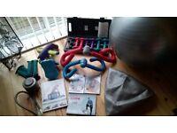 Balance Balls and keep fit bundle