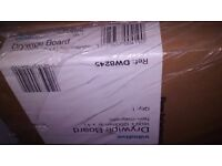 2 very large drywipe whiteboards (180 x 120cm) (Initiative DW8245 ). New/ boxed/ in plastic