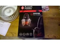 Russell Hobs mini chopper boxed not used